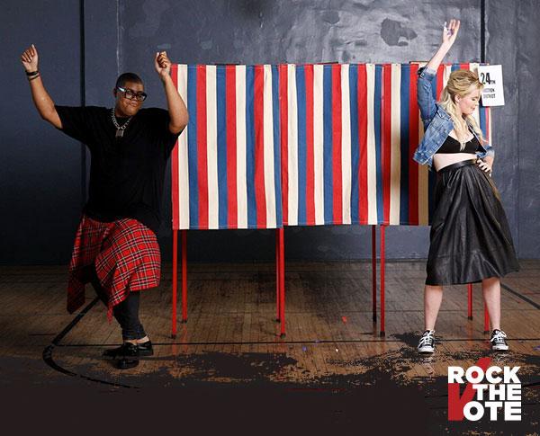 Rock the Vote Voting Information Center - Register and Vote!